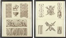 Design for neo-classical friezes and architectural ornament (+ another; pair) by Henry Bailey
