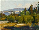 Bridge - Pasadena, California by Ferdinand Kaufmann