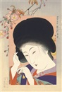 Young girls, the first from the series Imasugata go-annai (6 works) by Shoun Yamamoto