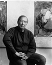 Jasper Johns at the Venice Biennale by Hans Namuth
