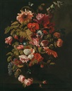 Grosses Blumenstillleben by Simon Pietersz Verelst