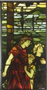 Stained glass panel by Stephen Adam