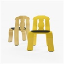 Empire chairs (pair) by Robert Venturi