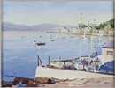 Gourock bay evening by Norman Edgar