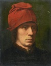 Portrait of a man in a fur-trimmed coat by Hans Memling