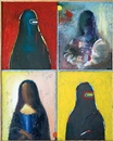 Mona Lisa in different centuries by Noi Volkov