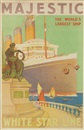 Majestic/White Star Line by William James Aylward