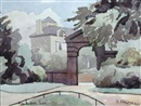 Greenwich Park, London by Elwin Hawthorne