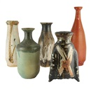 Vases (set of 5) by  Hui Ka-Kwong