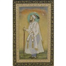 A portrait of Emperor Shah Jahan by  Hashim
