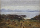 Harvest-time skye by Robert Weir Allan