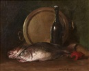 Two fish by William Merritt Chase