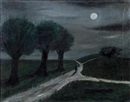 Moonlight path by Gertrude Abercrombie