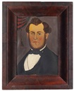 Portrait of a gentleman by  American School-Prior-Hamblen (19)