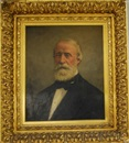Portrait of Samuel Putnam Avery (1822-1904) by James Carroll Beckwith
