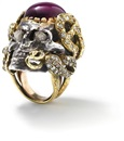 Skull ring by A. Codognato