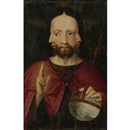 Christ with three faces: The Trinity by Dutch School (15/16)