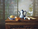 Still life by  Liu Li