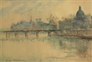 La Seine au Pont Neuf by Georges Dominique Rouault