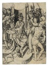 Christ before Pilate (from The Passion) by Martin Schongauer
