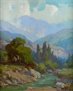 Bear Creek, Mount San Gorgonio by Marion Kavanaugh Wachtel