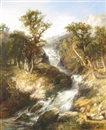 Glenfinlas, near the Trossachs by George Blackie Sticks