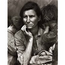 Migrant mother, Nipomo, California by Dorothea Lange