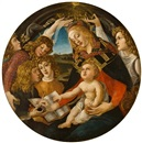 The Madonna of the Magnificat by Sandro Botticelli