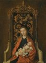 Virgin and Child by Martin Schongauer
