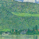 Litzlberg am Attersee by Gustav Klimt