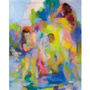 Bathers by Stanton MacDonald-Wright