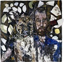 Portrait of Alan Moss by Julian Schnabel