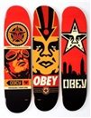 Obey skate decks by Shepard Fairey