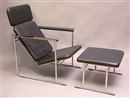 Skaala lounge chair und Ottomane (pair) by Yrjö Kukkapuro