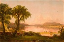 Summer afternoon at Lake George by Jasper Francis Cropsey