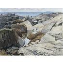 Tidal pool, Prout's Neck, Maine by George Franklin Arbuckle