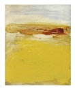 Untitled (with ochre) by Bill Jensen