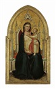 The Madonna and Child enthroned by Bernardo Daddi
