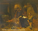 A tavern scene by Jan Steen