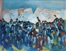 March on Washington by Alma Woodsey Thomas