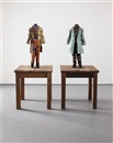 19th century kid (Benjamin Disraeli) (+ 19th century kid (William); 2 works) by Yinka Shonibare MBE