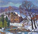 The mill stream by Fern Isabel Coppedge