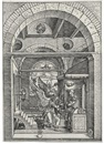The Annunciation (from The Life of the Virgin) by Albrecht Dürer