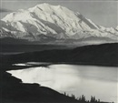 Mount McKinley and Wonder Lake, Denali National Park, Alaska by Ansel Adams