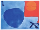 Blue day disc by Patrick Heron