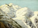 Snow-capped mountain study by George Gardner Symons