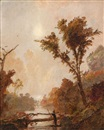 Autumn in the Hudson Valley by Jasper Francis Cropsey