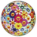Flower Ball (3-D) by Takashi Murakami