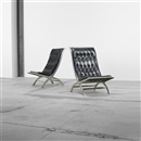 Maximilian lounge chairs (pair) by John Vesey
