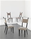 Side chairs (set of 4) by Jean Royère